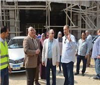 صور  رئيس المترو يتفقد أعمال تطوير محطة المرج الجديدة