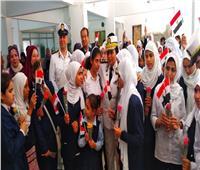 صور  وفد من حقوق الإنسان في زيارة لمدرسة النور والأمل