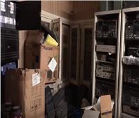 فيديو| ضبط شخص يدير قناة فضائية دون ترخيص بالدقي