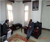 وزير خارجية بوروندي يستقبل السفير المصري