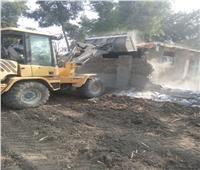 إزالة 350 حالة تعدٍ في محافظة القليوبية