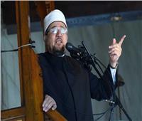 صور| وزير الأوقاف يصل مسجد «وادي الراحة» بسانت كاترين لإلقاء خطبة الجمعة