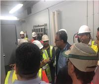 وزير النقل يستقل أول قطار بـ «مترو مصر الجديدة»