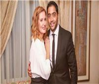 شاهد| زواج أحمد فلوكس وهنا شيحة في حفل عائلي