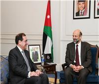 وزير البترول ورئيس وزراء الأردن يناقشان المشروعات المشتركة