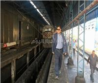 صور| رئيس «السكة الحديد» يفاجىءخطوط وورشغرب الدلتا