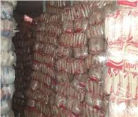 ضبط 156 طن أرز تمويني «مسوس» بالفيوم