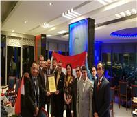 الجالية المصرية بالكويت تكرم أعضاء البعثة الدبلوماسية المنتهية خدمتهم