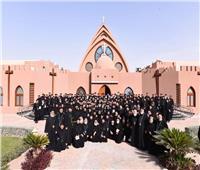 البابا تواضروس يستقبل مجمع كهنة المنيا