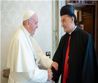 البابا فرانسيس يستقبل البطريرك الماروني