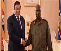 سفير مصر بأوغندا يلتقي الرموز الشبابية  المشاركة بمنتدى شرم الشيخ