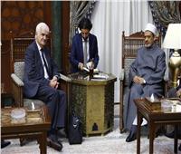 شيخ الأزهر: مستعدون للتعاون مع كل المؤسسات الدولية راعية السلام