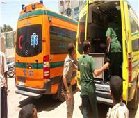 الصحة: إصابة 14 طالبا في انقلاب أتوبيس مدارس بالرحاب