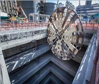 انتهاء أعمال الحفر بالمرحلة الثالثة من خط المترو الجديد