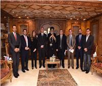 البابا تواضروس يستقبل وفد السفارة الفلسطينية