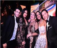 صور  هيفاء وهبي تشعل زفاف حفيدة حسن مصطفي وميمي جمال