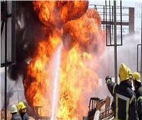 إخماد حريق نشب بمدرسة صناعية شرق الإسكندرية