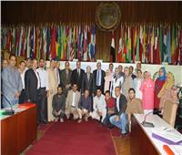 صور| تدريب باحثين عراقيين في مركز البحوث الزراعية