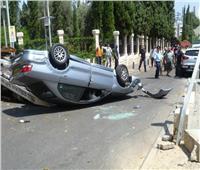 مصرع ٤ أشخاص إثر انقلاب سيارة بقنا