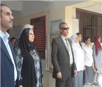 «عائشة حسانين الثانوية» تفوز بالمركز الأول في مسابقة أجمل مدرسة بالفيوم