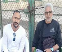 «ناجي» و«شوقي» يتابعان مباراة ناشئي الأهلي