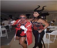 شاهد ملابس ساندي علي وإيمي سالم و تامر هجرس في احتفالات الهالوين
