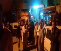 إصابة 14 شخصًا في حادث تصادم أكثر من سيارة أمام مدينة طوخ