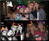 صور| هكذا احتفلت زينة عاشور بـ«الهالوين» مع أصدقائها