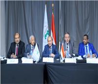 وزير التجارة والصناعة يلتقي بأعضاء مجلس إدارة اتحاد الغرف العربية