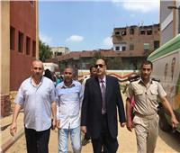 «جذع نخلة» يهدد قرية كاملة بمحافظة المنيا