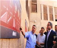 العناني يتفقد مشروع ترميم مسجد «الطنبغا المارداني»