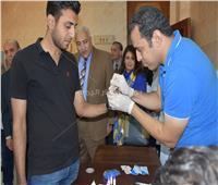 «100 مليون صحة» تطمئن على 30 ألف طالب بـ«جامعة السادات»