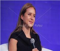 صور| نيللي كريم تشارك بمؤتمر «صوت مصر» بحضور والي والمشاط