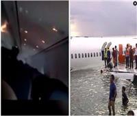 فيديو يرصد اللحظات الأخيرة لضحايا الطائرة الاندونيسية