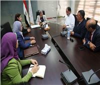 وزيرة البيئة تلتقي وفدًا من المستثمرين السعوديين في مجال المخلفات الصلبة