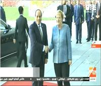بث مباشر  قمة مصرية ألمانية بين الرئيس السيسي وميركل