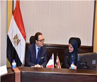 وزيرة الصحة تبحث مع السفير الفرنسي تطوير منظومة الطوارئ في مصر