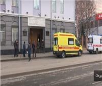 شاهد| اللحظات الأولى بعد تفجير مقر الأمن الفيدرالي بروسيا