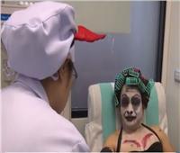 فيديو| الصليب الأحمر يستقبل متبرعي الدم في بانكوك بـ«ملابس الأشباح»