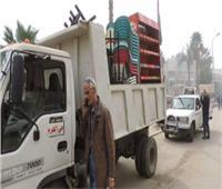 حملة مكبرة لرفع الإشغالات بالمنطقة الآثرية في الهرم