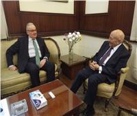 القومي لحقوق الإنسان يستقبل السفير الإيطالي بالقاهرة