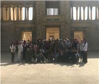 زيارة علمية لطلاب جامعة السويس لمدينة الإنتاج الإعلامي