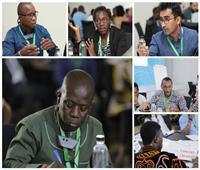 صور| «التكنولوجيا وريادة الأعمال» على مائدة الشباب العربي والأفريقي بشرم الشيخ