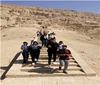 استمرار رحلات نشر الوعي السياحي بين المواطنين في أسيوط