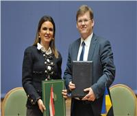 وزيرة الاستثمار توقع مذكرة تفاهم للتعاون في مجال النقل البحري مع أوكرانيا
