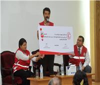 الهلال الأحمر: خالد النبوي يقود حملة «الناس لبعضيها» للتبرع بالدم