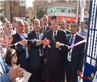 افتتاح مبنى المديرية المالية ببني سويف بعد تطويره بتكلفة 2 مليون جنيه