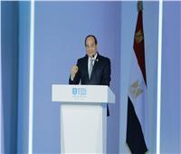 صور| تفاصيل افتتاح الرئيس السيسي منتدى شباب العالم 2018