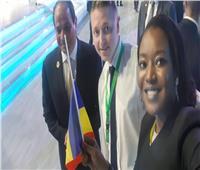 صور| تعرف على الشاب صاحب الصورة «السيلفي» مع الرئيس السيسي