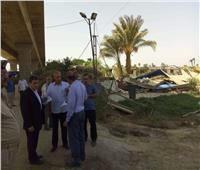 حملة لرفع الإشغالات والتعديات على حرم الطريق بديرمواس